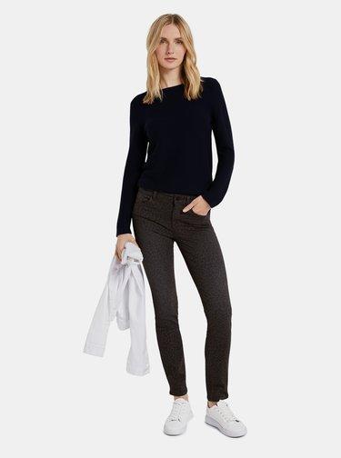 Pantaloni chino pentru femei Tom Tailor - maro