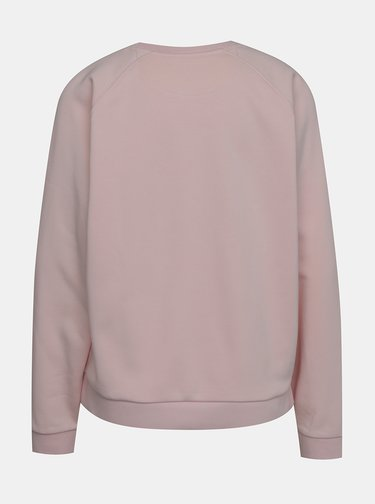 Růžová dámská mikina Lacoste