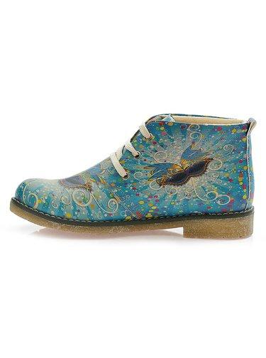 Goby kotníkové boty Butterfly Blue