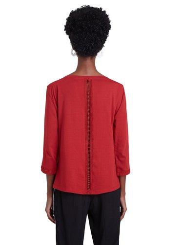 Desigual červené tričko TS Dublin