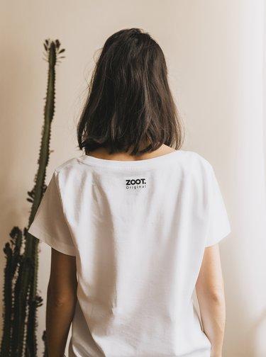 Biele dámske tričko ZOOT Original Herbarium Modern