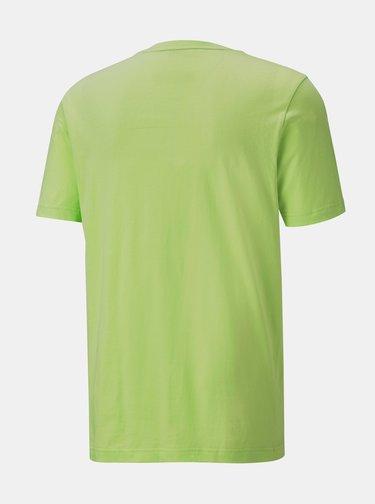 Zelené pánské tričko Puma