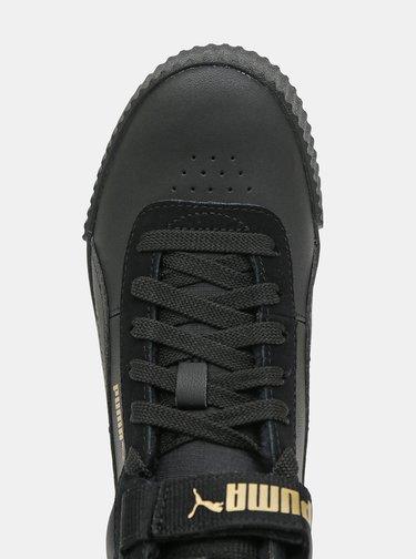 Čierne dámske zimné tenisky Puma