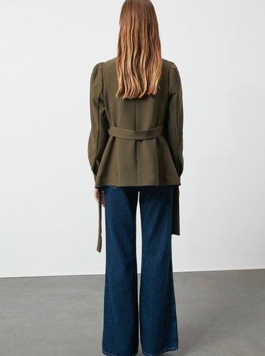 Sacouri si blazere pentru femei Trendyol - kaki