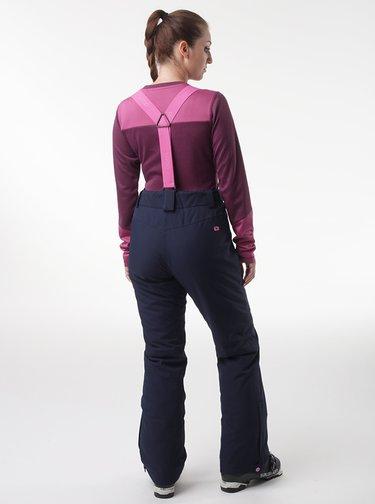 Tmavě modré dámské lyžařské kalhoty LOAP Flair