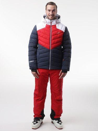 Červeno-modrá pánská lyžařská bunda LOAP Olto