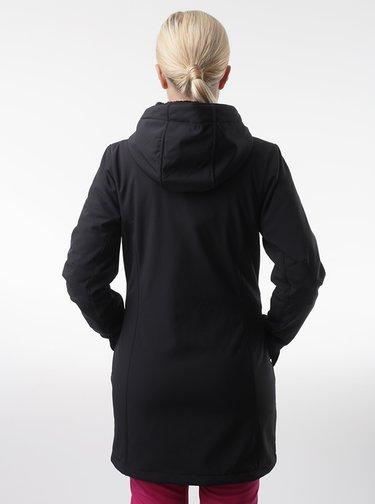 Černý dámský softshellový kabát LOAP Lywiena