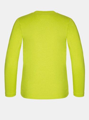 Žlté chlapčenské tričko LOAP Bady