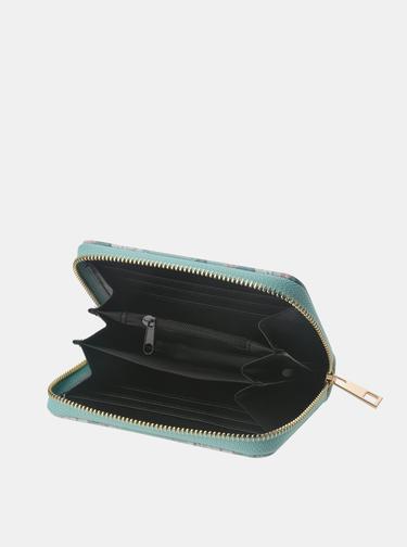 Modrá dámská květovaná peněženka Clayre & Eef