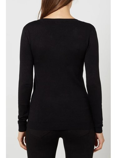 Guess černý svetr s logem