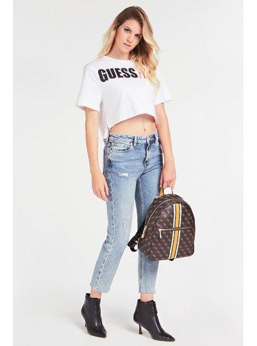 Guess hnědý batoh Lola 4G Logo Backpack