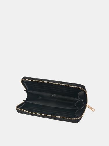 Černá dámská prošívaná peněženka Clayre & Eef