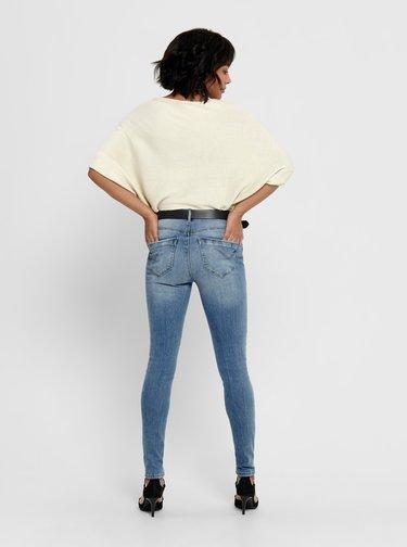 Krémový sveter s netopierími rukávmi Jacqueline de Yong