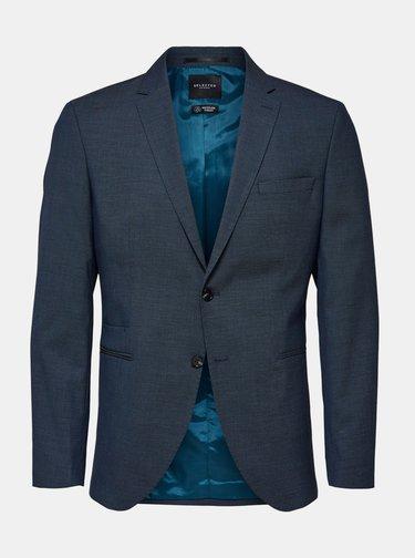 Tmavě modré sako Selected Homme Mazelogan