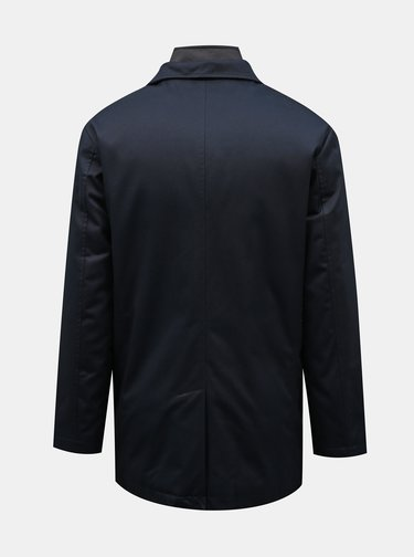 Tmavomodrý kabát Selected Homme Simon
