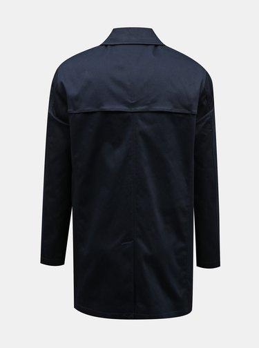 Tmavě modrý pánský kabát Selected Homme New Timeless