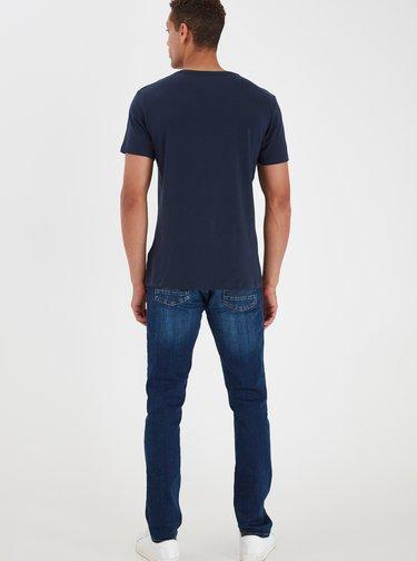 Sada dvou tmavě modrých basic triček Blend
