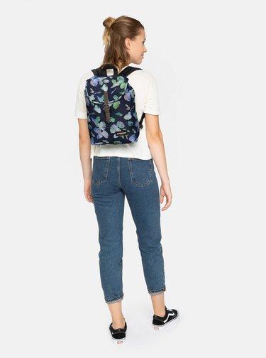 Tmavě modrý vzorovaný batoh Eastpak 10,5 l