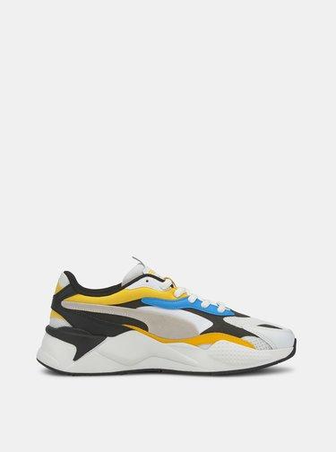 Žlto-biele unisex tenisky Puma