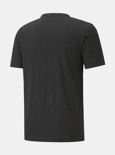 Tmavě šedé pánské tričko s potiskem Puma