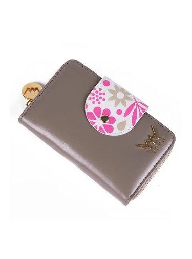 Vuch šedo-hnědá peněženka Lola