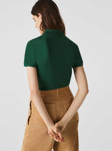 Zelené dámské polo tričko Lacoste