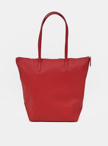 Červený shopper Lacoste