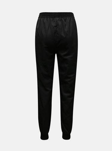 Černé šusťákové kalhoty TALLY WEiJL