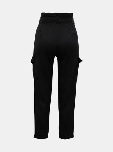 Černé kalhoty s kapsami TALLY WEiJL
