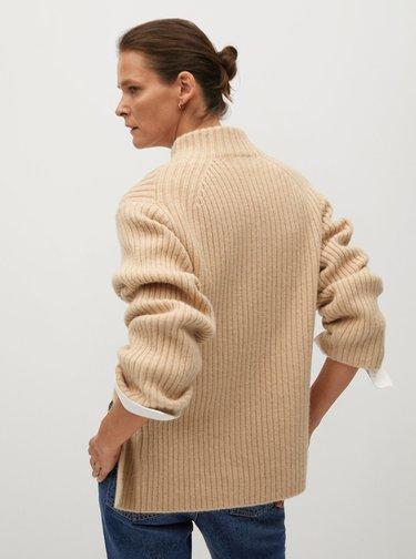 Béžový svetr Mango
