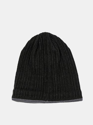 Čierna pánska čiapka Hannah