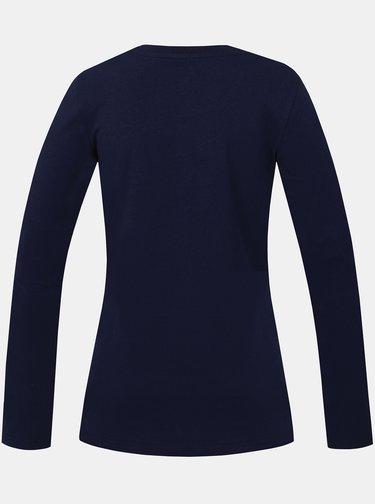 Tmavomodré dámske tričko Hannah