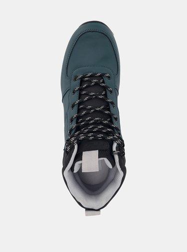Tmavomodré pánske členkové topánky SAM 73