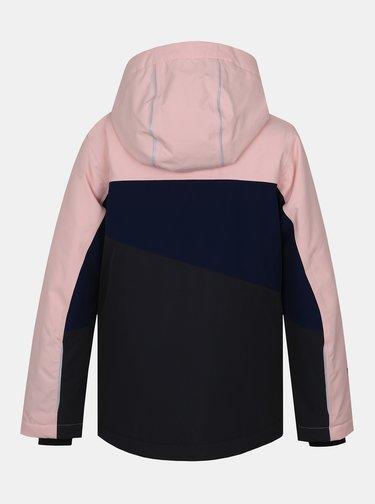 Modro-ružová dievčenská zimná bunda Hannah