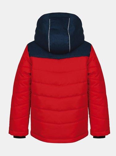 Červená klučičí zimní bunda Hannah