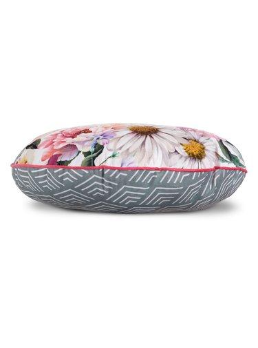 Home kulatý dekorativní polštář s výplní Descanso Novara White