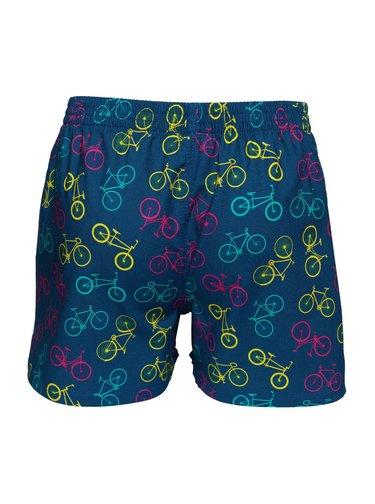Slippsy modré pánské trenýrky Bike