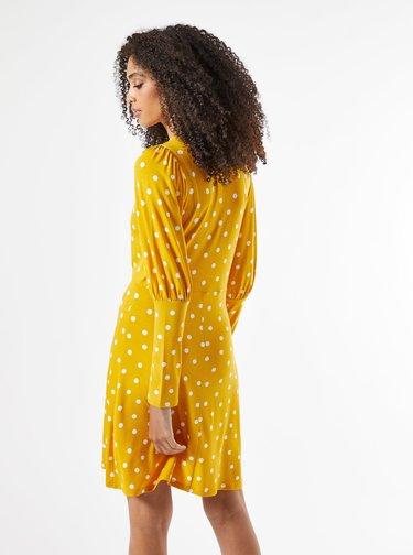 Marimi curvy pentru femei Dorothy Perkins - galben