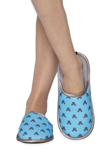 Slippsy modré unisex domácí pantofle Mickey