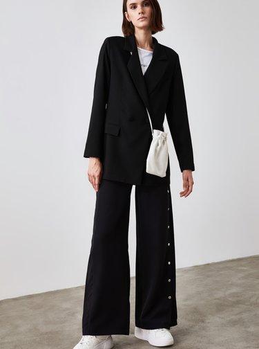 Čierne dámske sako Trendyol