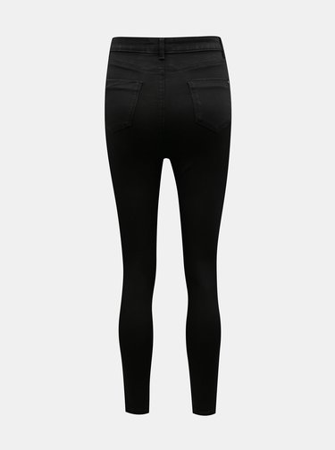 Čierne skinny fit rifle Dorothy Perkins