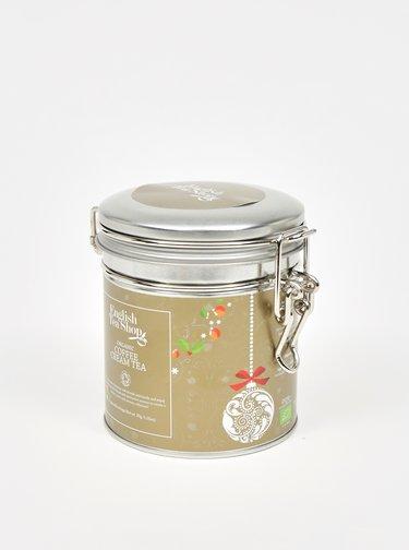 Dárková dóza s čaji ve stříbrné barvě English Tea Shop