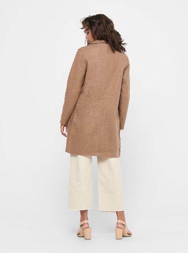 Béžový kabát ONLY Carrie