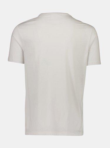 Tricouri basic pentru barbati Lindbergh - alb