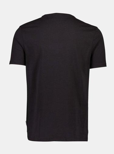 Tricouri basic pentru barbati Lindbergh - negru