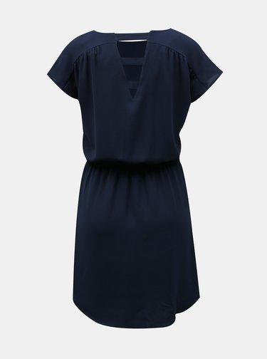 Tmavě modré šaty VERO MODA