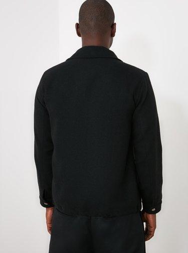 Černá pánská bunda Trendyol