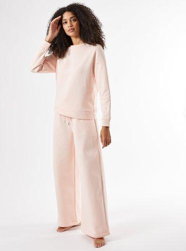 Světle růžová mikina Dorothy Perkins