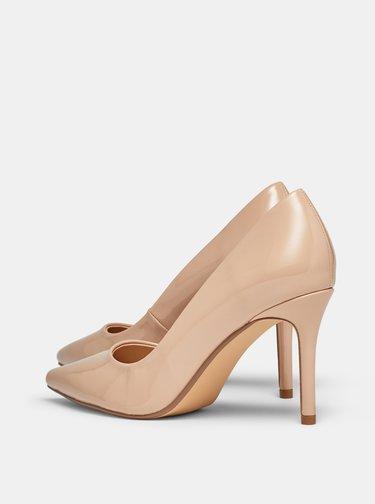 Pantofi cu toc pentru femei Dorothy Perkins - bej