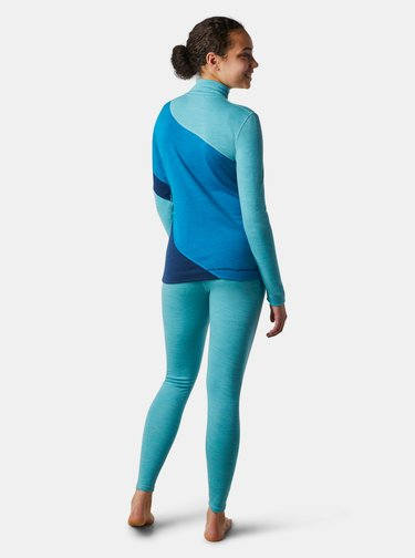 Modré dámske športové tričko Smartwool
